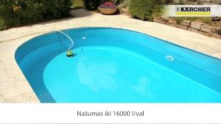 Kärcher SCP 5000 drenažinis siurblys - švarus vanduo