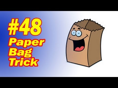Paper Bag Trick - Transform Objects -  Easy To Learn - Fun Beginner Magic