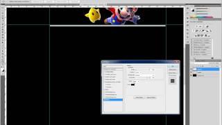 Photoshop Tutorial Deutsch Homepage erstellen(Grundgerüst) Teil1