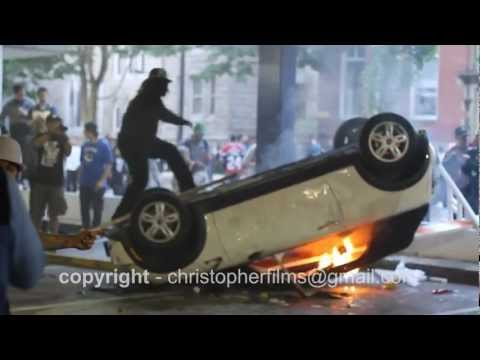 RAW VANCOUVER RIOT FOOTAGE (1080p HD) 18:00 Minutes June 15 2011
