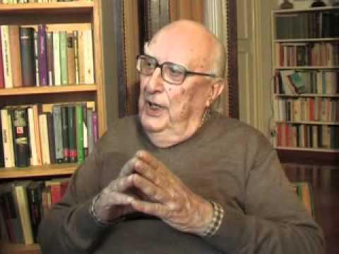 """Andrea Camilleri parla de """"La spartenza"""" con Gaetano Savatteri - Roma, 28 ottobre 2009"""