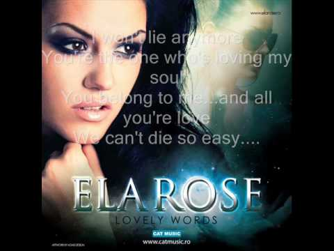 Ela Rose - Lovely Words(Official with Lyrics) HQ