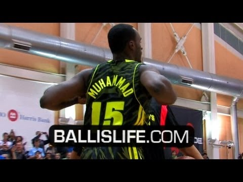 Shabazz Muhammad Wins 2012 McDonald's All American Dunk Contest!! FULL Contest Re-Cap!