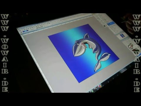 "Airbrush by WOW "" how to ... cut a stencil "" Hai Schablone schneiden.mp4"