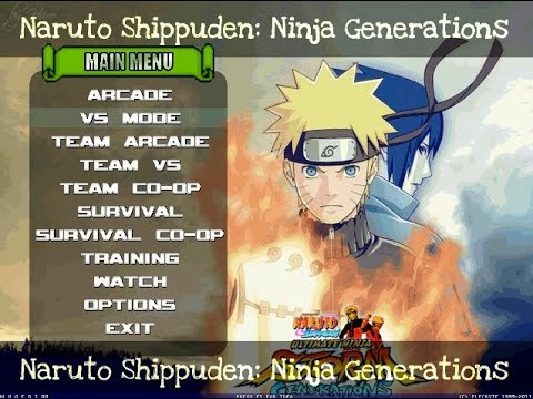 Naruto Shippuden MUGEN Edition 2012 [HI-Res][With Download]