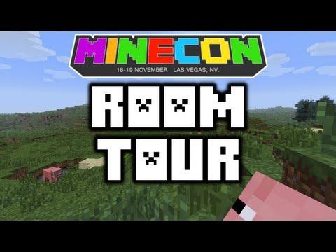Minecon: Hotel Room Tour (HD)