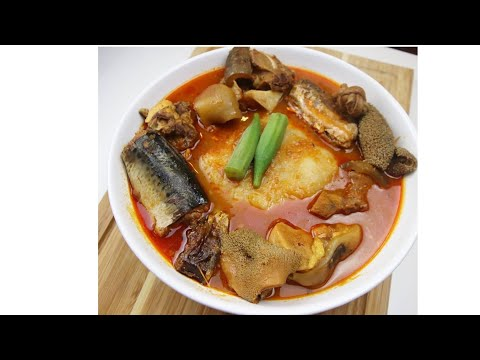 How to Prepare Goat Meat Soup and Fufu (from Scratch)