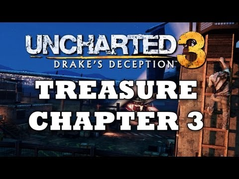 Uncharted 3 Treasure Locations: Chapter 3 [HD]