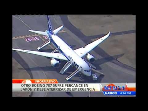 Salidas de Emergencia de un Avion Avión Aterriza de Emergencia