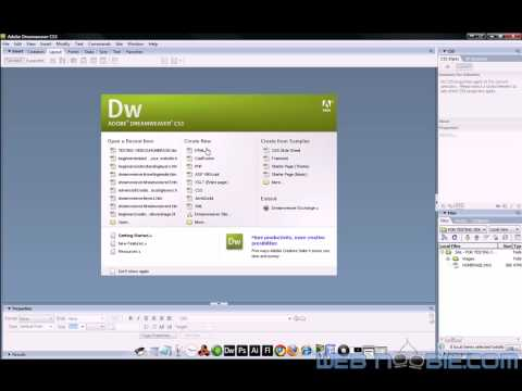 slicing psd to dreamweaver volume 2