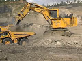 GIANT KOMATSU EXCAVATOR PC3000 WORKING IN INDONESIA