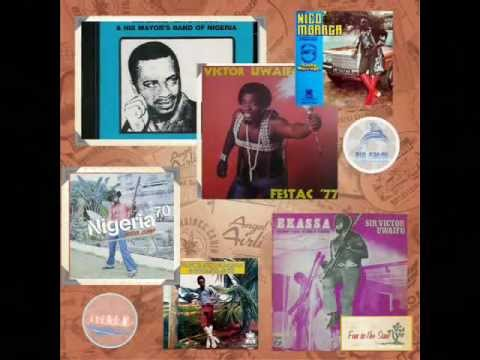 Nigeria and Ghana High life music of the 60s and 70s mix pt1....DJ HQ