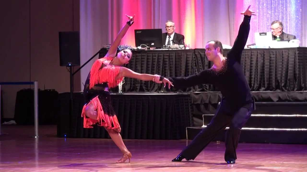 2014 Riverfront Dancesport Festival - Josh Tilford & Ashley Nicole Swing Show Dance