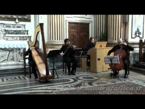 Aria sulla 4^ corda - J.S.Bach - Arpa,Organo,Violino & Violoncello