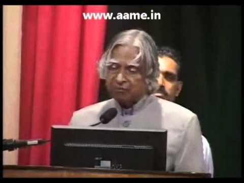 Dr. APJ Abdul Kalam speaking about Hinduism 01 of 02