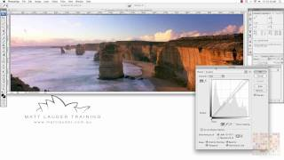 Landscape Photography Photoshop Tutorial: Setting your black and white point