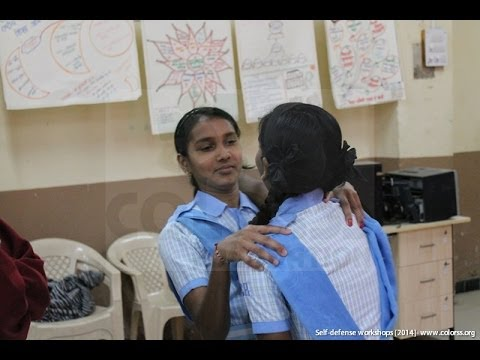Self defense training for Girls | Colorss Foundation