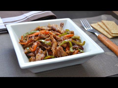 Stir-Fried Beef with Vegetables - Easy Beef & Vegetable Stir-Fry Recipe