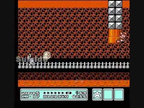 Super Mario Bros. 3 - glitch collection
