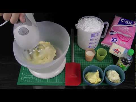 Perfectly Pipeable Butter Cream Frosting Tutorial & Recipe for Perfect Cake & Cupcake Icing