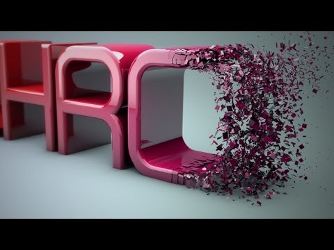 Cinema 4D r13 Tutorial: Particles Transition to Text - PolyFX