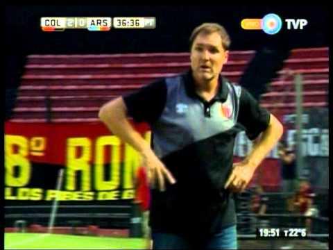 Colón superó por 2-1 a Arsenal