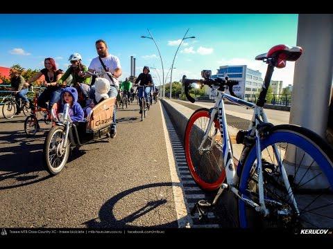VIDEOCLIP Vrem un oras pentru oameni! - 1 - marsul biciclistilor, Bucuresti, 22 aprilie 2017 [VIDEO]