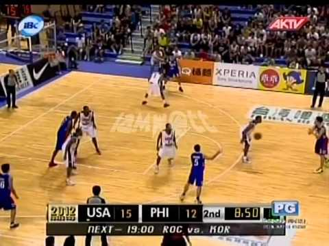 2012 JONES CUP Gold Medal Match | Pilipinas Vs USA part 3