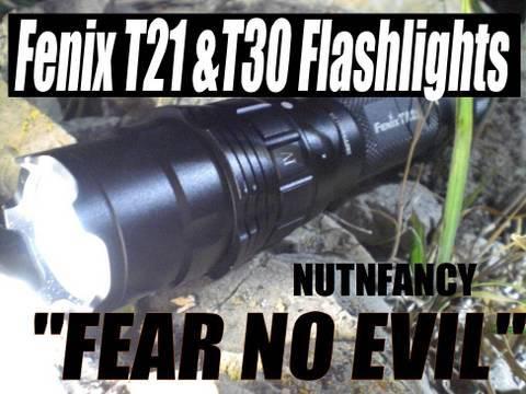 Fenix TA21 & TA30 lights:  Fear No Evil