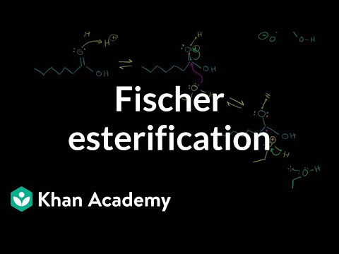 Fisher Esterification