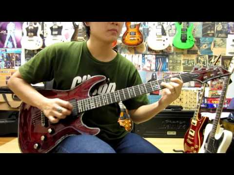 Schecter C-1 Hellraiser Guitar Drive Sound