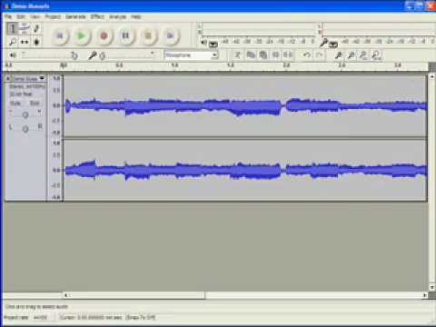 Audacity How to Edit Tutorial