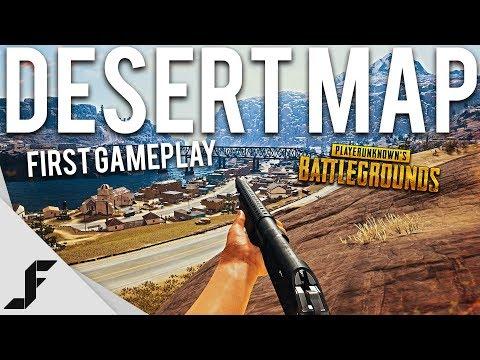 FIRST GAME ON NEW DESERT MAP - Playerunknown's Battlegrounds - UCw7FkXsC00lH2v2yB5LQoYA