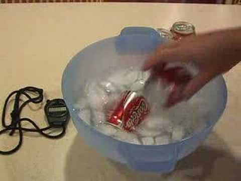Chill A Coke In 2 Minutes!