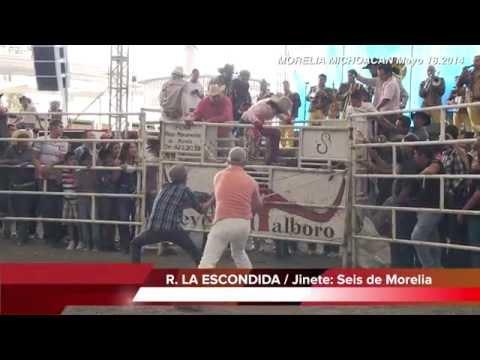 Jaripeo: TORNEO ESTATAL DE TOROS Expo Morelia Michoacan 2014-Mayo 18