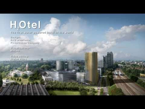 H2Otel - the first water-powered hotel