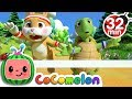 The Tortoise and the Hare   +More Nursery Rhymes & Kids Songs - Cocomelon (ABCkidTV)