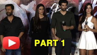 Fitoor Trailer Launch | Katrina Kaif, Tabu, Aditya Roy Kapoor | Part 1 UNCUT
