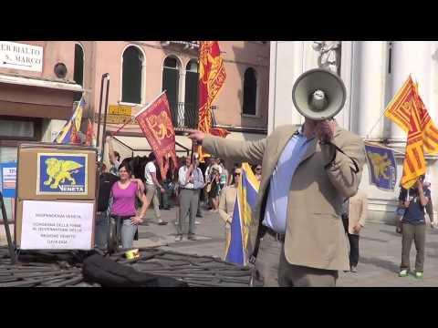 Grande evento per l'Indipendenza Veneta: interventi di Lodovico Pizzati