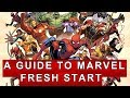a guide to marvel fresh start titles