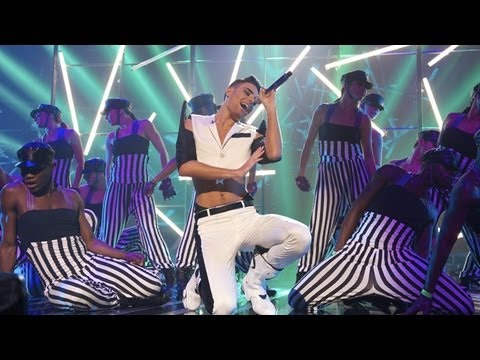Rylan Clark sings a Jennifer Lopez / Rihanna medley - Live Week 3 - The X Factor UK 2012