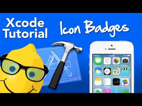 XCode 4 Tutorial Creating Icon Badges - Geeky Lemon Development