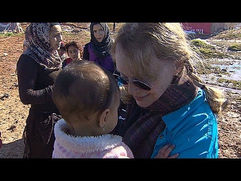 Mia Farrow pleads for Syrian refugees