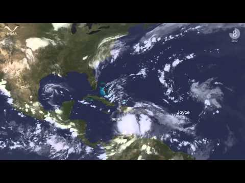 The 2012 Atlantic Hurricane Season in 4.5 Minutes