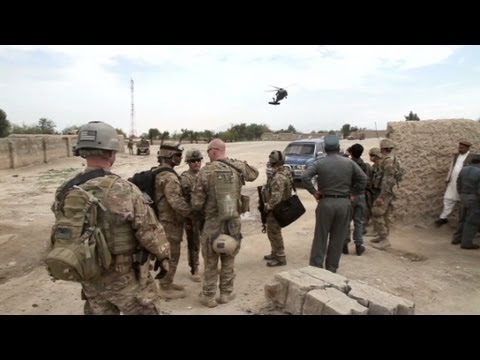 U.S. special forces train Afghan police