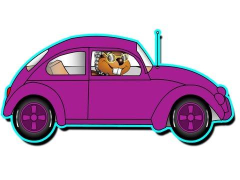 """Grandma's Got a Little Purple Car"" - Kids Learn Colors, Funny Song, Teach Children Colours"