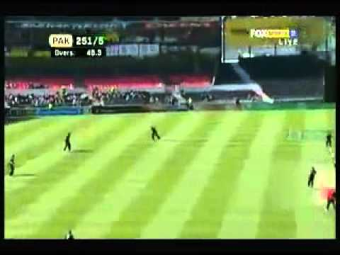 Shahid Afridi  65 Runs off 25 balls 3rd ODI Pak VS New Zealand 2011