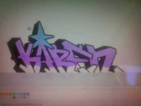 Graffitis con el nombre de karen , Imagui