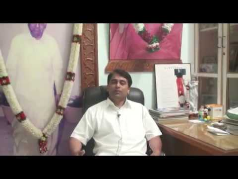 Sri.Ratnakar, member of Sri Sathya Sai Central Trust's exclusive Interview 2nd July 2011.mp4