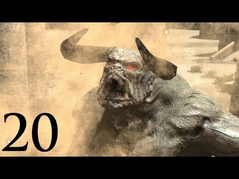 Serious Sam 3: BFE - KHNUM BOSS FIGHT - Walkthrough - Part 20 (Gameplay)